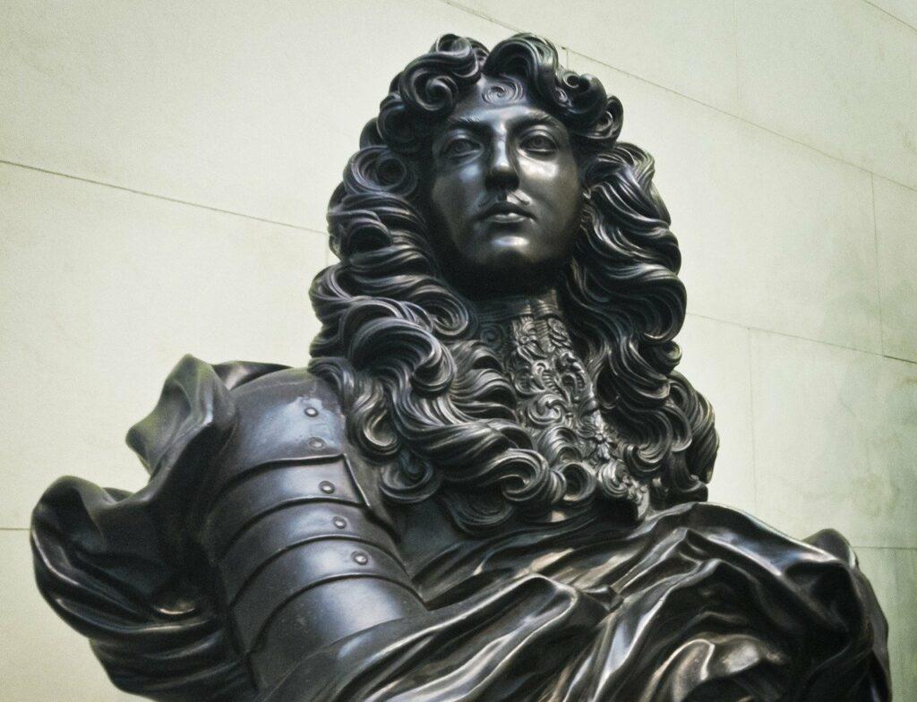 Louis XIV, Louis 14, Roi-Soleil, chiffre romains, musées français