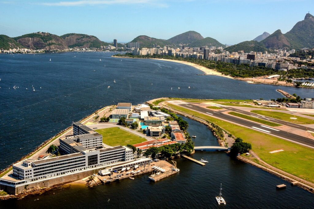 aéroport de Rio, rio de janeiro, Brésil, covid, variant brésilien
