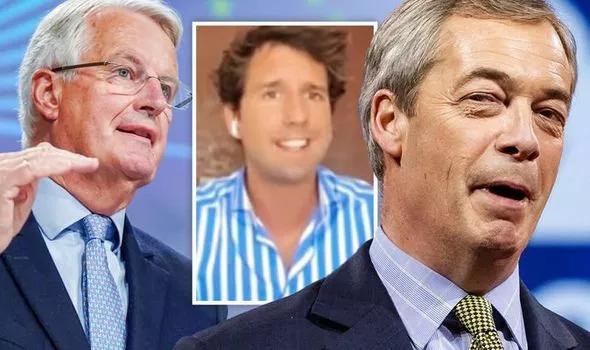 Charles-Henri Gallois, Nigel Farage, Brexit, Génération Frexit, Brexit Party