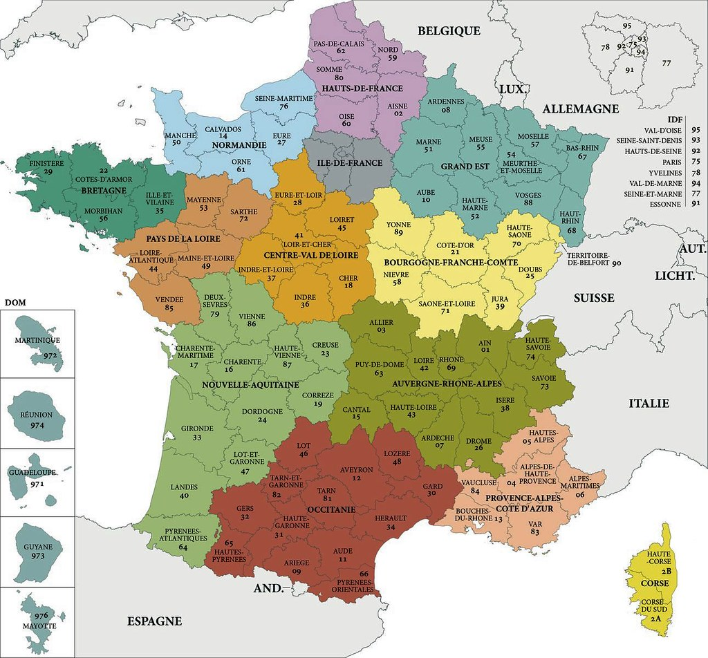France, Régions, élections régionales