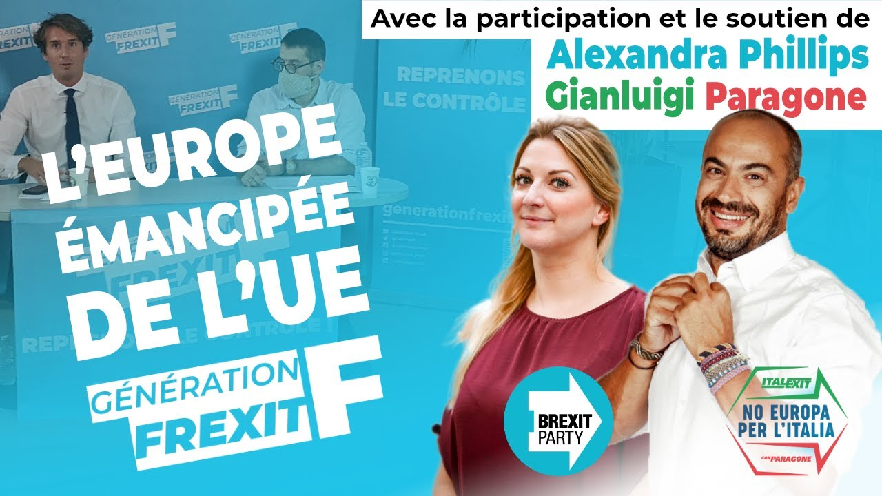 Génération Frexit, Union européenne, Italexit, Brexit