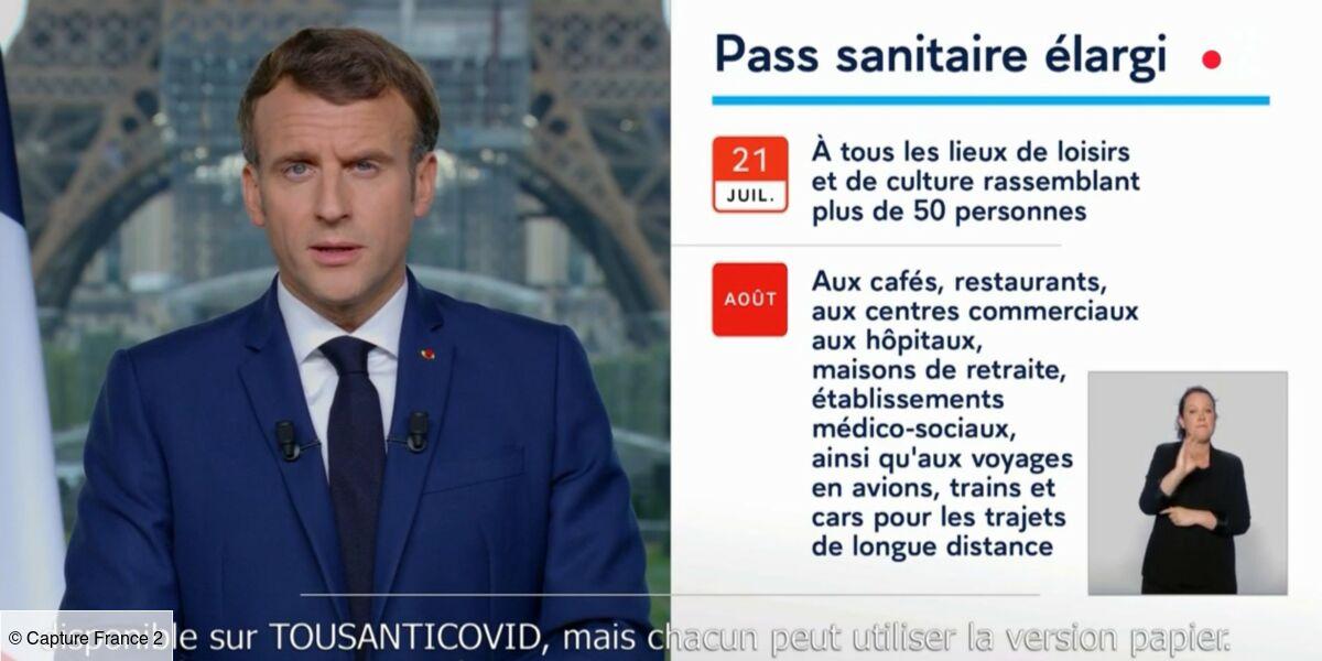 Macron, passe sanitaire, covid-19, allocution, vaccin, vaccination obligatoire